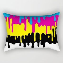 CMYK Rectangular Pillow