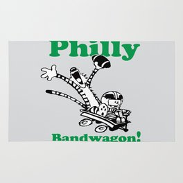 Philly Bandwagon! Rug