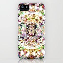 Psychedelic Mantis Mandala iPhone Case