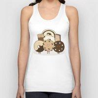 cookies Tank Tops featuring I ❤️ cookies by maRiLisa