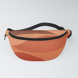 Abstraction_Mountains_Minimalism_Layers_001 Fanny Pack