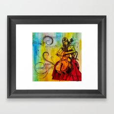 Orchestrated Framed Art Print