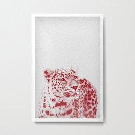 Leopard 01 Metal Print