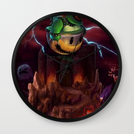 The Dystopian King (Bowser) Wall Clock