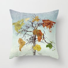 Earth Tree (The Beginnings) Throw Pillow