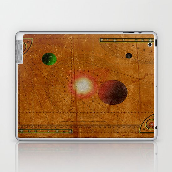 Space Map…and then you turn left 031 Laptop & iPad Skin