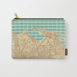 San Juan Map Retro Carry-All Pouch