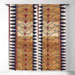 Azerbaijani Northwest Persian Carpet Print Blackout Curtain