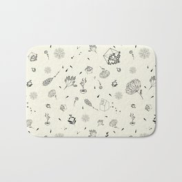 flora house Bath Mat