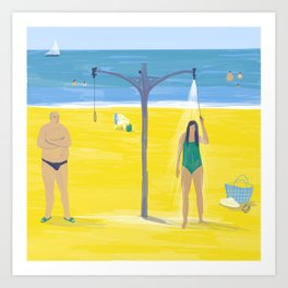 Tel-Aviv #5 Art Print