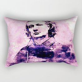 Charles Baudelaire 2. Rectangular Pillow