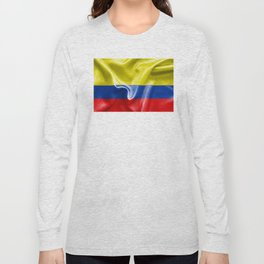 Colombian Flag Long Sleeve T-shirt