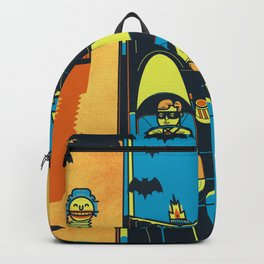 THIS IS BAT COUNTRY (Fear and loathing in Gotham City) Backpack