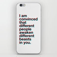 I Am Convinced iPhone Skin