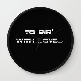 Lyrics Wall Clock