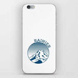 mt Rainier iPhone Skin
