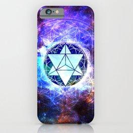 Sacred Geometry Merkaba Abstract iPhone Case