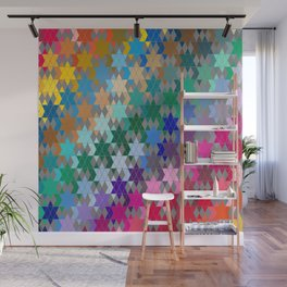 Star of David Pattern  Wall Mural
