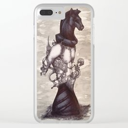 Unbridled Clear iPhone Case