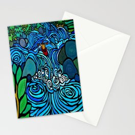 PADDLE THE PLUNGE Stationery Cards
