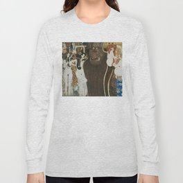 BEETHOVEN FRIEZE - GUSTAV KLIMT Long Sleeve T-shirt