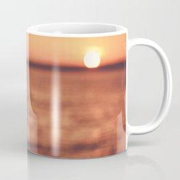 Warm Tropical Summer Sunset (Color) Coffee Mug