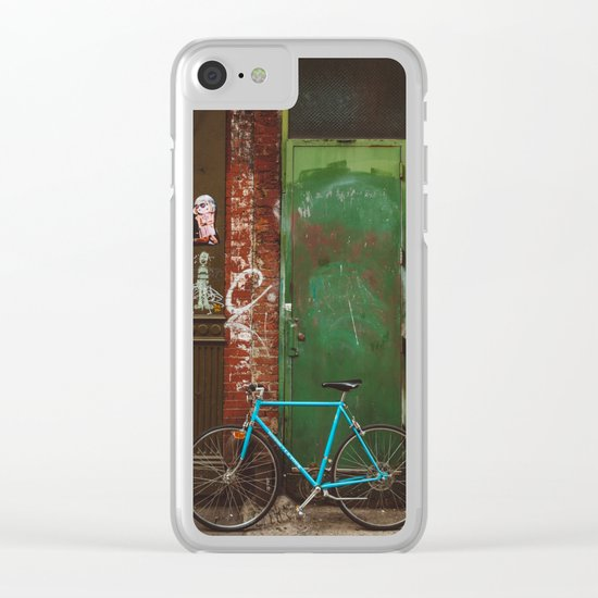 East Village III Clear iPhone Case