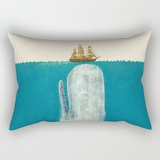 The Whale - colour option Rectangular Pillow