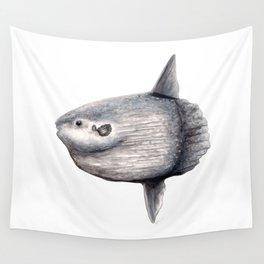 Ocean Sunfish (Mola mola) Wall Tapestry