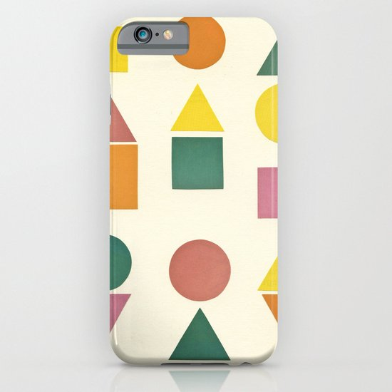 Shape Sorter iPhone & iPod Case