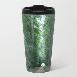 Tree lined path Travel Mug