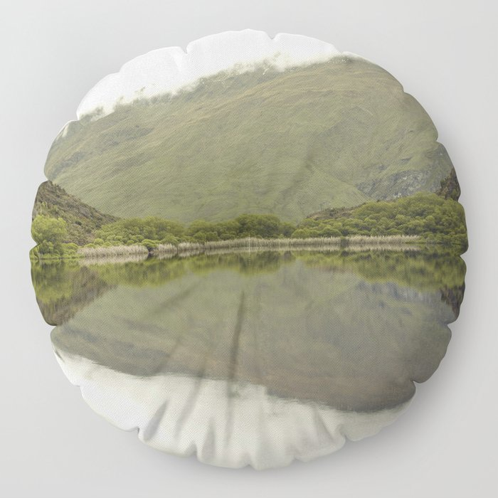 Reflections from Diamond Lake Floor Pillow