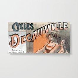 Decauville Metal Print