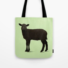 Black Lamb // Green Tote Bag
