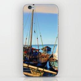 Dhow Stone Town Port Zanzibar iPhone Skin