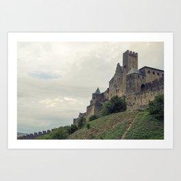 Carcassonne Art Print