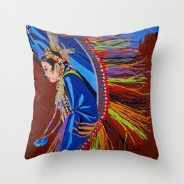 Shaw Dancer #2 Throw Pillow