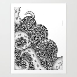 Mandacles Art Print