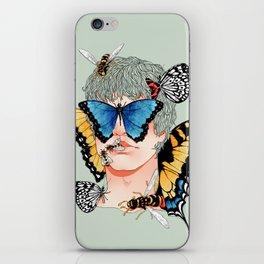Butterfly Boy iPhone Skin