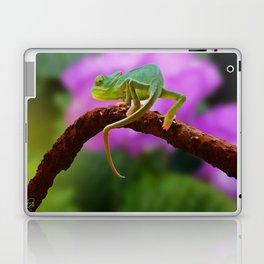 Floral Baby Chameleon Laptop & iPad Skin