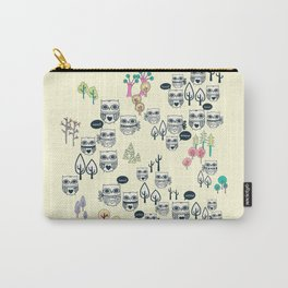 Forest Of Owls Carry-All Pouch