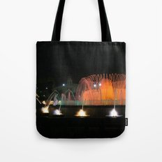Barcelona Fountain Tote Bag