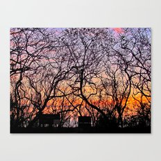 Connections Canvas Print