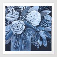 Midnight Arrangements Art Print