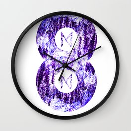 Vinyl abstract Wall Clock