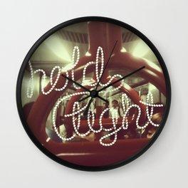Hold tight Wall Clock