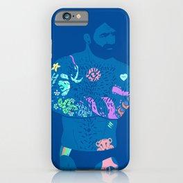 The artist - neon light iPhone Case
