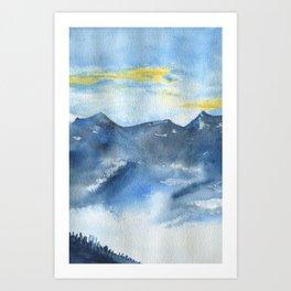Brume Art Print