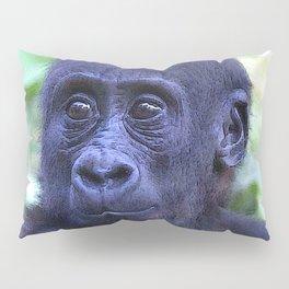 CArt Gorilla Baby Pillow Sham
