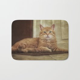 Cattitude Is Everything. Bath Mat